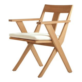 Summit Furniture X Collection Dining Arm Chair For Sale