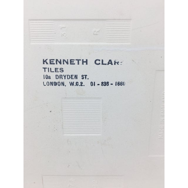 Modern Kenneth Clark Owl Ceramic Tile For Sale - Image 4 of 7