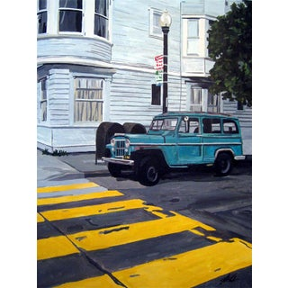 """""""Walk"""" - Painting Giclee by Josh Moulton For Sale"""