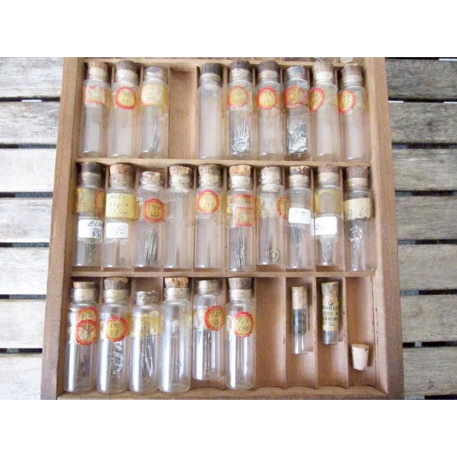 Vintage Watchmakers Wood Drawer Cabinet - Image 11 of 11