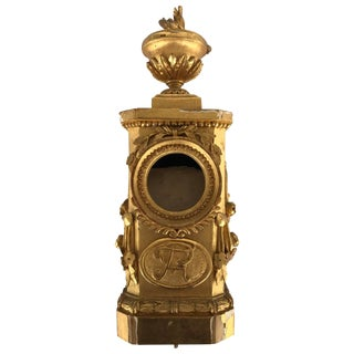 18th Century French Gilded Watch Holder For Sale