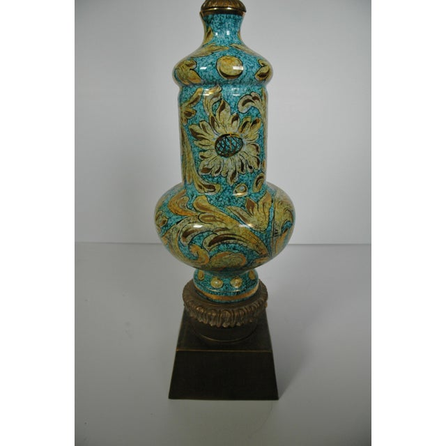 Blue Porcelain Lamp - Image 3 of 5