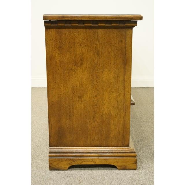 20th Century Italian Dixie Furniture Triple Door Dresser For Sale - Image 11 of 13