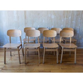 Vintage Italian School Chairs- Set of 8 Preview