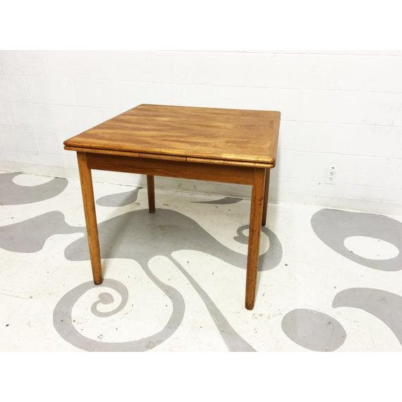 Mid-Century Modern Teak Dining Table - Image 3 of 6