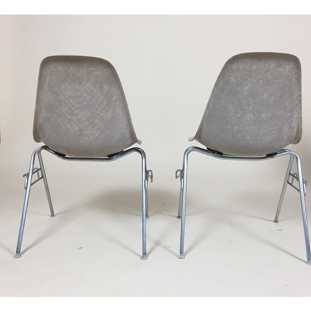1960s Eames Shell Stacking Chairs - A Pair - Image 5 of 6