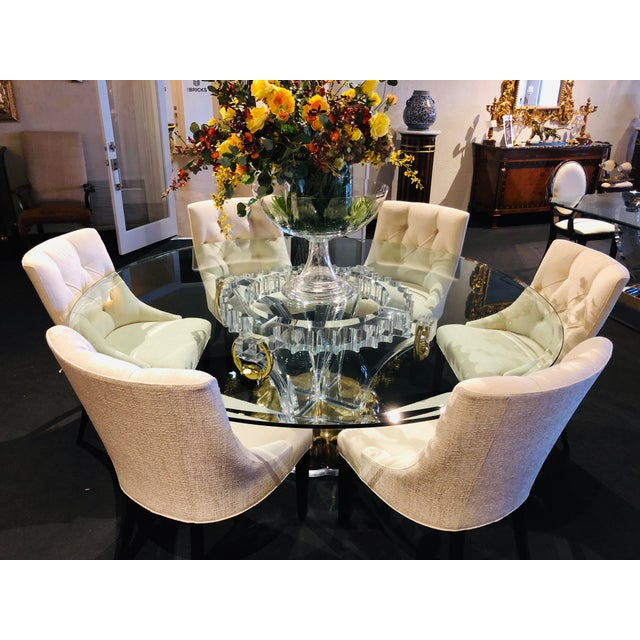 Modern Swaim Furniture Dining Chairs- Set of 6 For Sale - Image 12 of 13