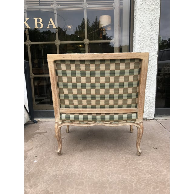 Mid 20th Century Vintage Bergere Side Chairs - a Pair For Sale - Image 5 of 8