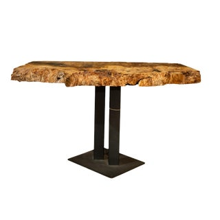 Live Edge Side End Table For Sale