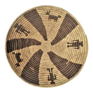 Indian Native American Kumeyaay Mission Tribal Basket