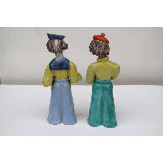 Figures by Hungarian Maria Rahmer- A Pair For Sale In Palm Springs - Image 6 of 9