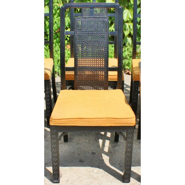 Vintage Chinese Chippendale Chairs - Set of 6 - Image 8 of 9