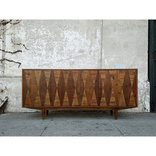 Diamond Modern Rustic Credenza For Sale In Los Angeles - Image 6 of 6