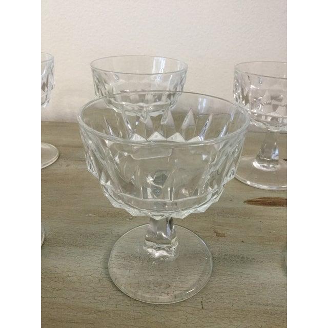 1960s Vintage 1960's Cocktail Glasses Marked France - Set of 8 For Sale - Image 5 of 6
