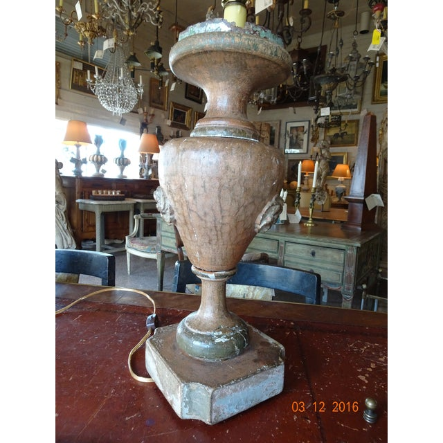 Paint Italian 19th Century Pair of Lamps For Sale - Image 7 of 13