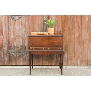 Rosewood Dutch Colonial Trunk on Stand Preview