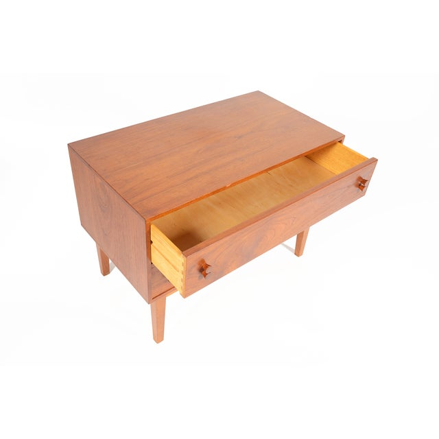 Danish Modern Two-Drawer Chest - Image 7 of 9