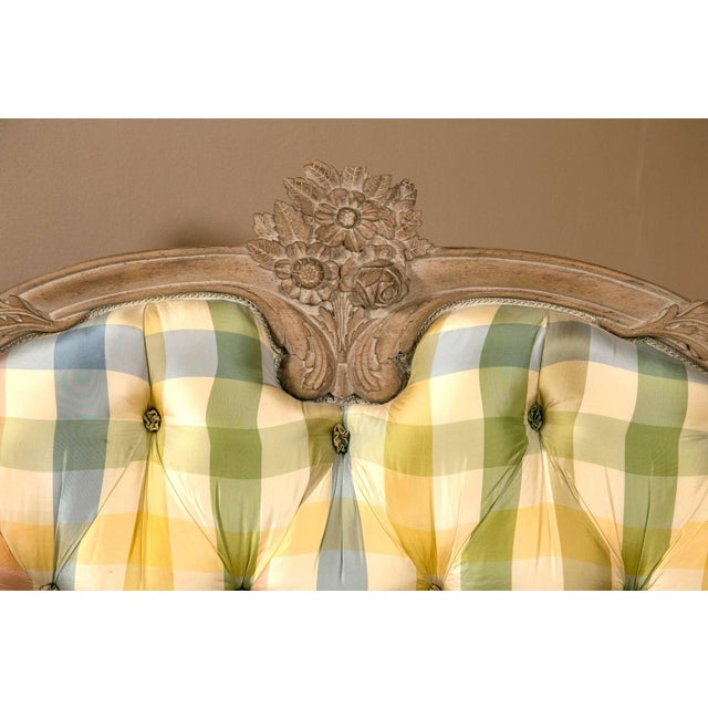 King-Sized Louis XV Style Country French Bed For Sale In New York - Image 6 of 10