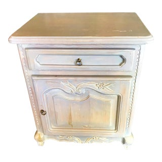 Wellesley Guild Hand Carved Nightstand For Sale