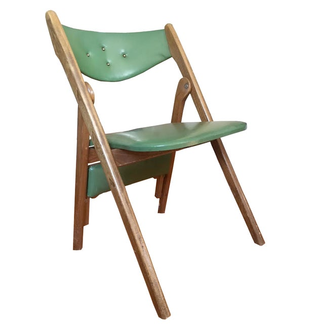 Norquist Coronet Vintage Folding Chairs - Set of 4 For Sale