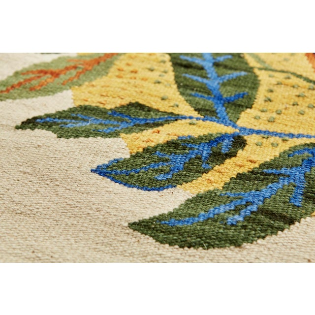 Textile Cottage Schumacher Patterson Flynn Martin Citrus Garden Hand-Woven Wool Floral Rug - 9' X 12' For Sale - Image 7 of 10