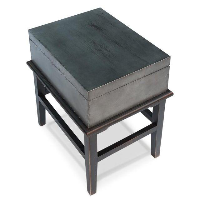 Sarreid Ltd. Afellay Side Table - Image 3 of 6