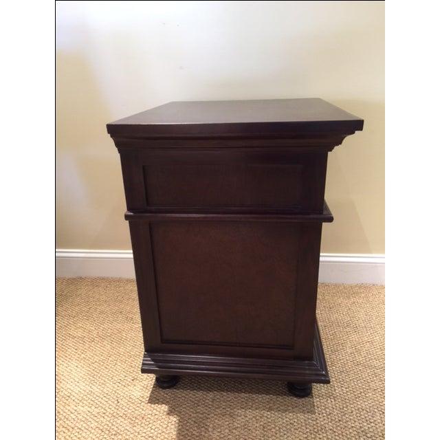 Noir Shutter Side Table For Sale - Image 5 of 6