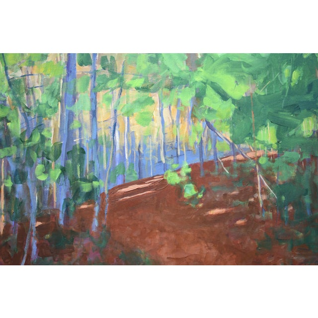 """Contemporary Stephen Remick """"Late Afternoon"""" Contemporary Painting For Sale - Image 3 of 11"""
