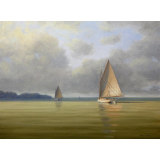 Ronald Tinney, 'Calm Before the Storm' Painting, 2018 For Sale