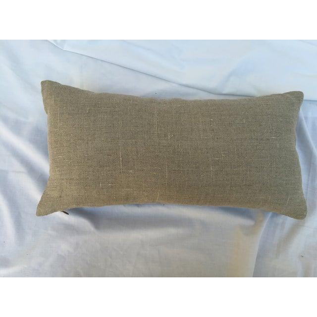 Chinoiserie Silk Crane Boudoir Pillow - Image 6 of 7