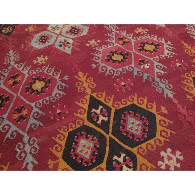 Early 20th Century Large Antique Sharkisla Kilim For Sale - Image 5 of 8