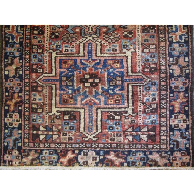 "Persian Karaje Rug - 1'10"" X 2'9"" - Image 4 of 5"