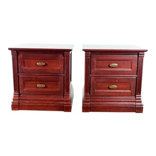 Traditional Romina Nightstands - a Pair For Sale