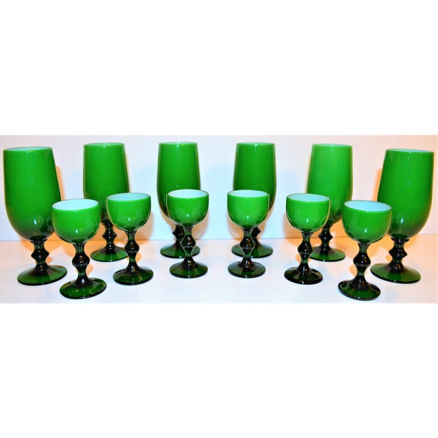 1960s Vintage Carlo Moretti Cordial Stemware - Set of 12 For Sale - Image 10 of 10
