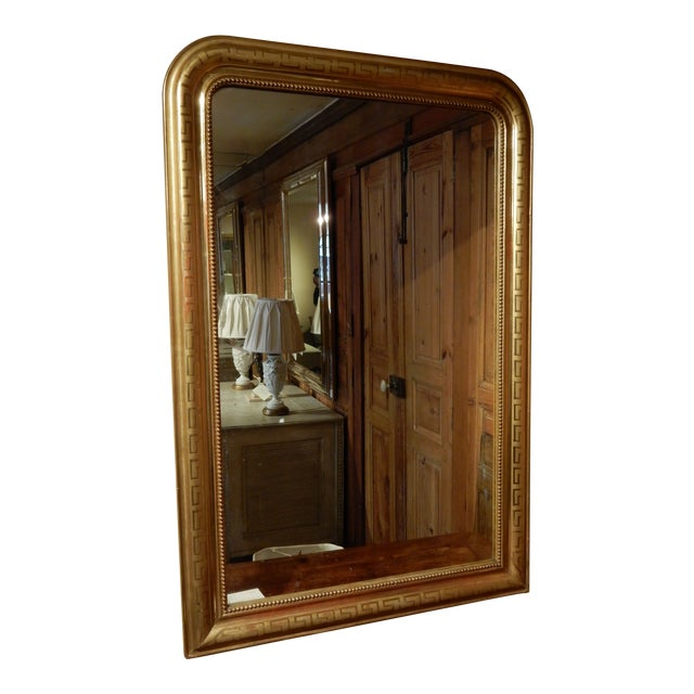19th C. Louis Philippe Mirror For Sale