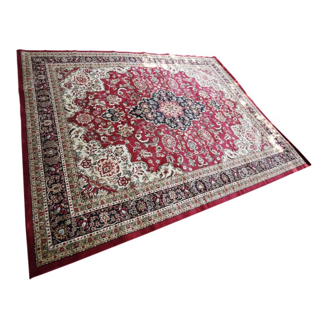 Persian Synthetic Rug - 9' x 12' - Image 1 of 4