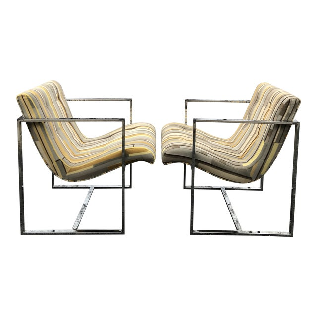 Fantastic Scoop Chairs New Textural Cotton Velvet Silver-Craft For Sale