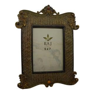 Raj Ornate 5 X 7 Picture Frame For Sale