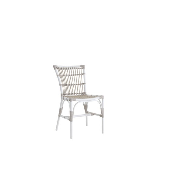 Not Yet Made - Made To Order Elisabeth Exterior Side Chair - Dove White For Sale - Image 5 of 5