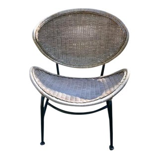 Mid Century Salterini Clam Shell Chair For Sale