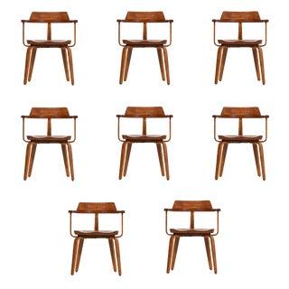 Walter Gropius Set of Ten Armchairs For Sale