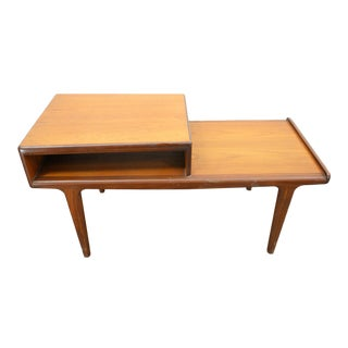 Teak Telephone Bench by Younger #2 For Sale