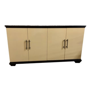 Contemporary Ivory Haven Buffet For Sale