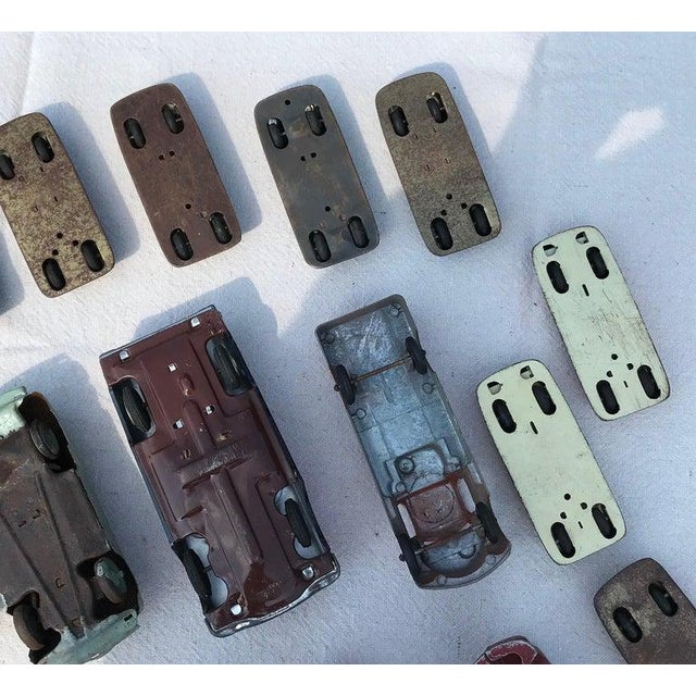 1950s Vintage Toy Cars - 28 Pieces For Sale - Image 9 of 12
