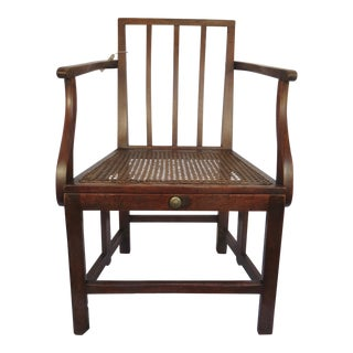 Mid 19th Century Scottish British Military Campaign Chair For Sale