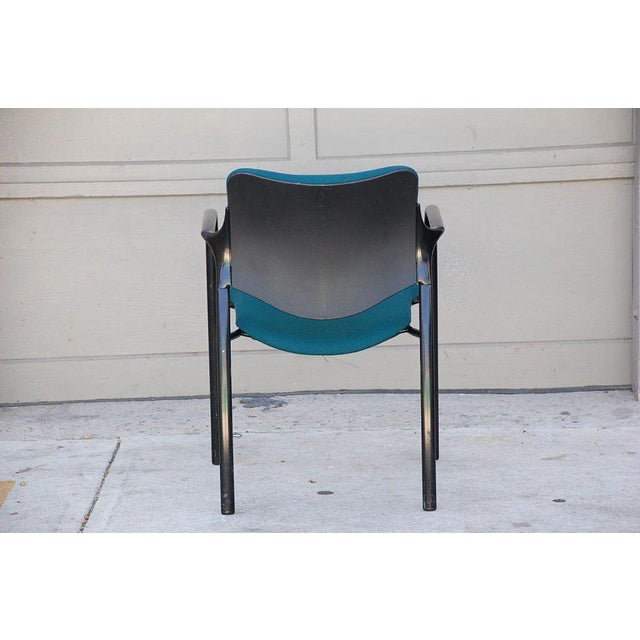 Mark Goetz Set of 4 Modern Dining Chairs by Mark Goetz for Herman Miller For Sale - Image 4 of 6