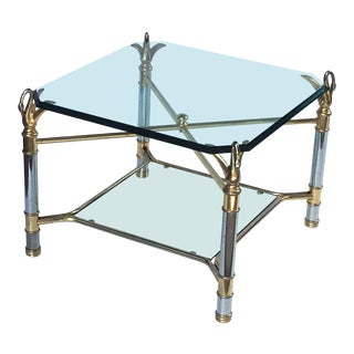 French Swan's Neck Low Table For Sale