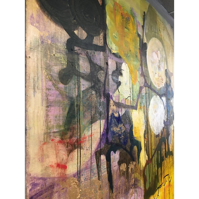 Yellow Intuition by Willie Heeks For Sale - Image 8 of 12