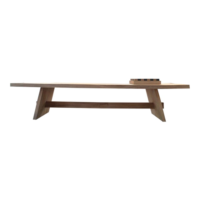 OZ|Shop Monkey Pod Campaign Dining Table For Sale