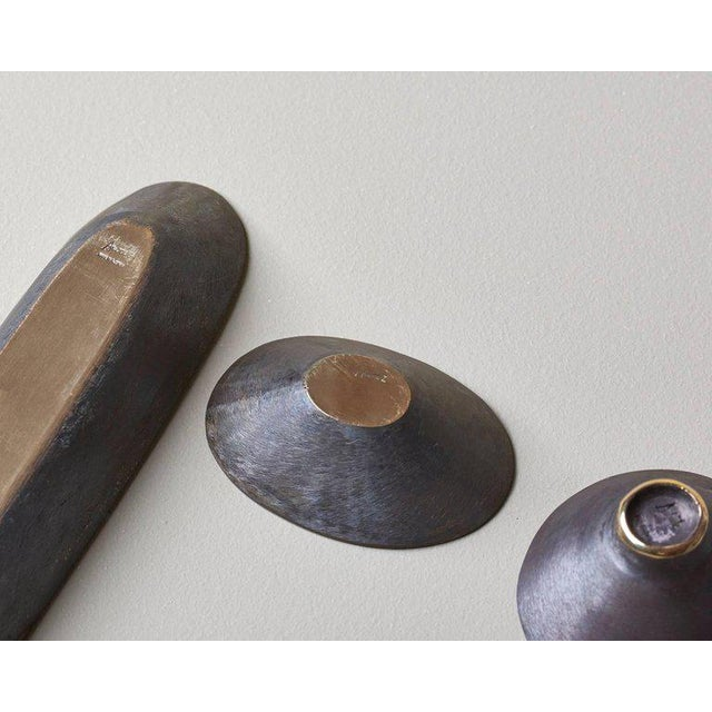Carl Auböck Set of Three Bowls by Carl Auböck For Sale - Image 4 of 6